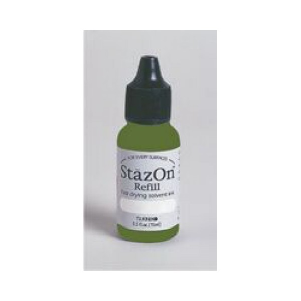 Tsukineko - Olive Green Staz On Reinker