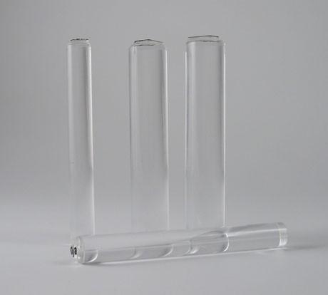 Card-io - Small Majestix Clear Acrylic Rod Peg Mounts 12mm dia. 1 per pack