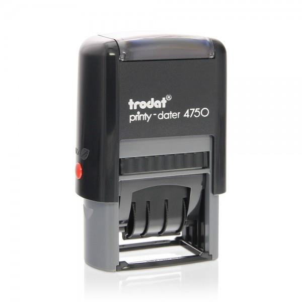 Trodat Printy Dater 4750 41 x 24 mm - 1+1 lines