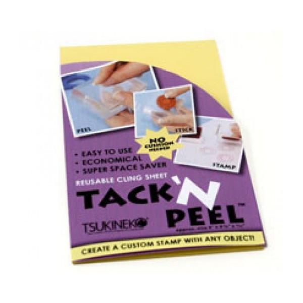 Tsukineko - Tack n Peel Reusable Cling Sheet