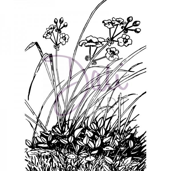DaliArt - DaliART Clear Stamp Meadow Flowers A6