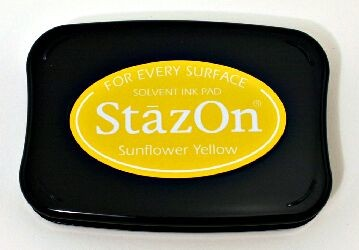 Tsukineko - Sunflower Yellow Staz On Pad