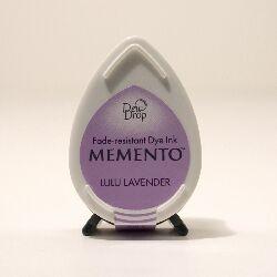Tsukineko - BS Lulu Lavender Memento Dew Drop dye Ink Pad