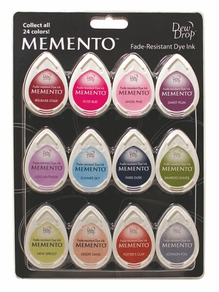 Tsukineko - Memento 12 Piece Set Sorbet Scoop