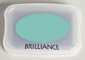 Tsukineko - Pearlescent Jade Brilliance Pad