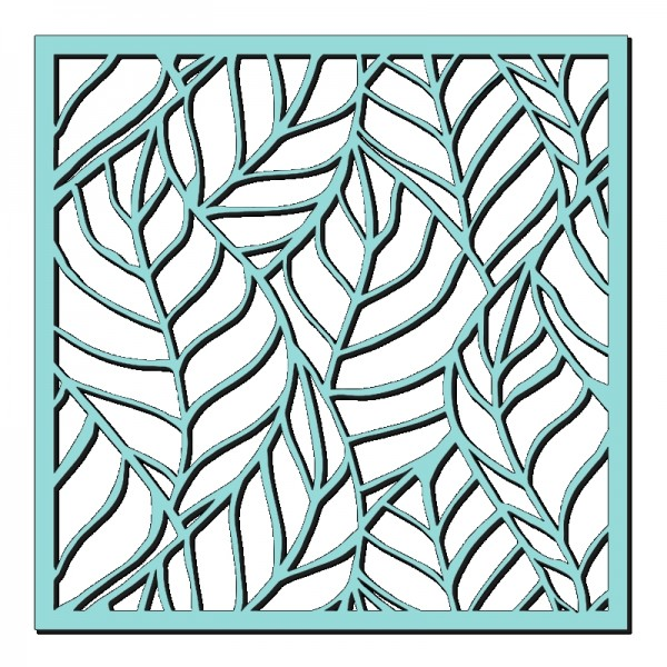 Kath Halstead Designs - Sweet Dixie Skeleton Leaves Stencil
