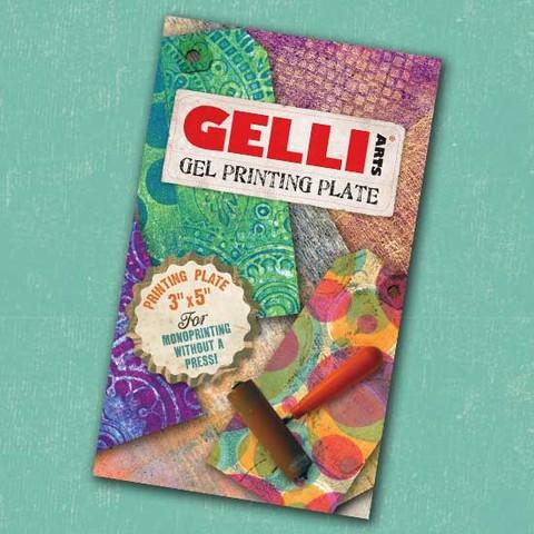 Gelli Arts - Gelli Plate 3in x 5in