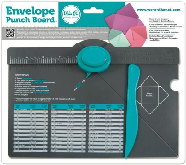 We R Memory Keepers - Envelope Punch Board