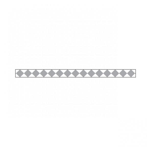 Little B - Little B Silver Harlequin 3mm x 20m Tape