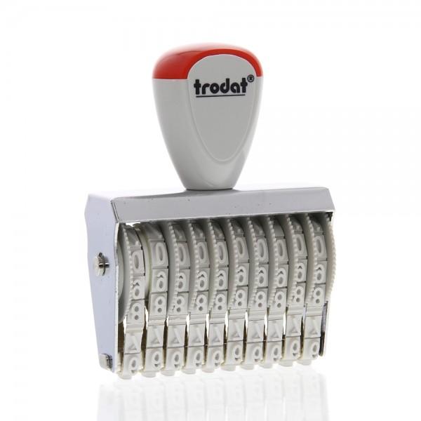 Trodat Classic Line 15510 Numberer - 5 mm, 10 bands