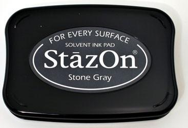Tsukineko - Stone Grey Staz On Pad
