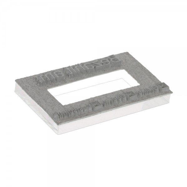 Textplate for Trodat Professional Dater 5470 60 x 40 mm - 3+3 lines