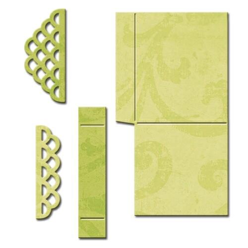 Spellbinders - Scalloped Pop Up Box - Shapeabilities
