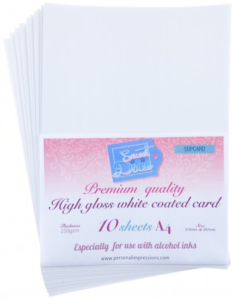 Sweet Dixie - Pack of 10 A4 White
