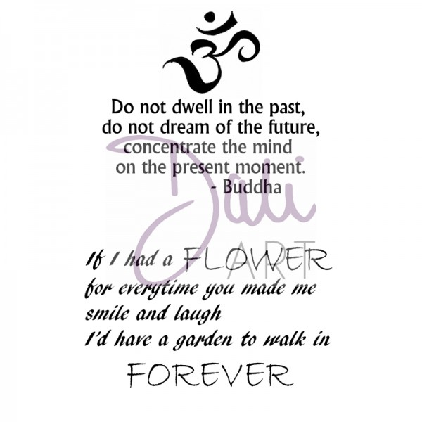 DaliArt - DaliART Clear Stamp Buddha and Forever A6
